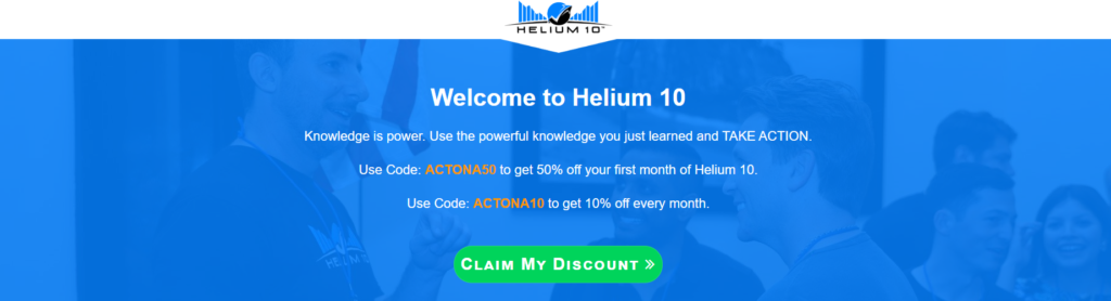 Helium 10 with review and coupon codes